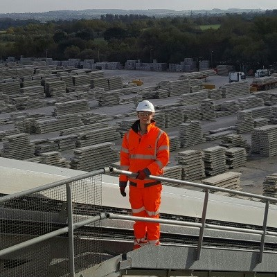 Paid to learn and travel - meet Aggregate Industries graduate Joshua Cain