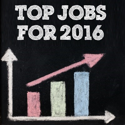 What are the top jobs for 2016?