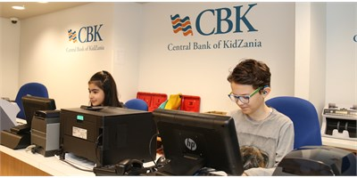 Bank Cashier #KidZaniaLondon